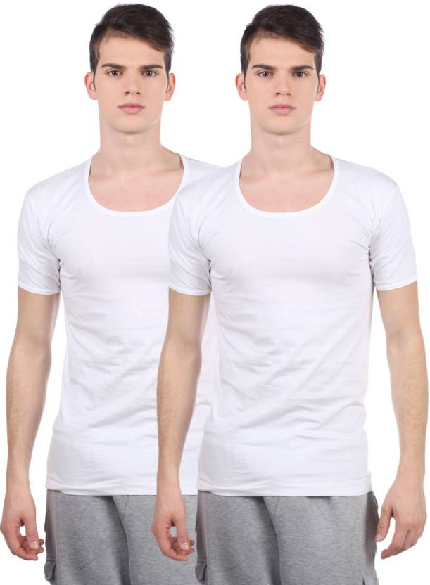 b04fddff0028 VIP Men's Vest - Buy White VIP Men's Vest Online at Best Prices in ...