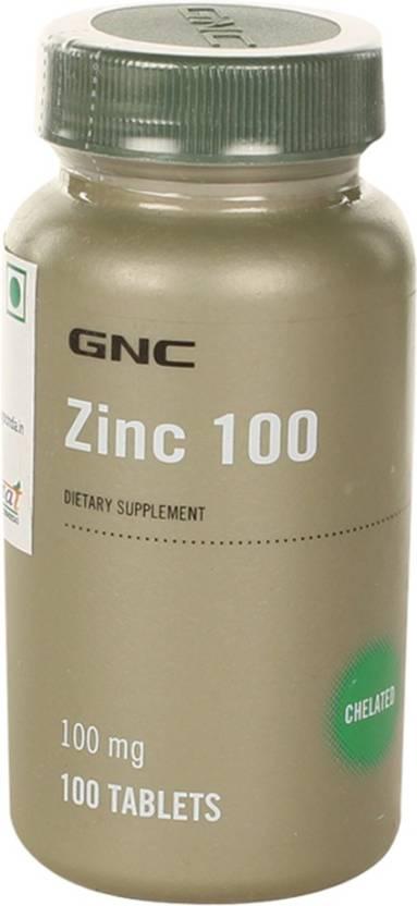 Gnc Zinc 100mg Price In India Buy Gnc Zinc 100mg Online At
