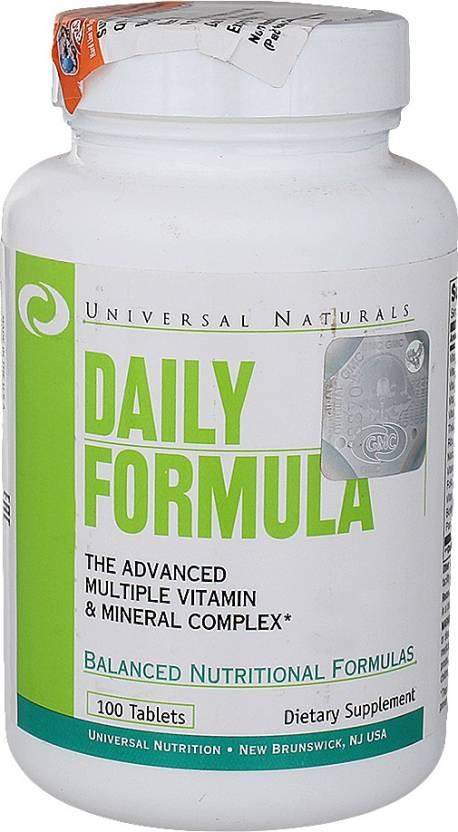 Universal Nutrition Daily Formula 100 No
