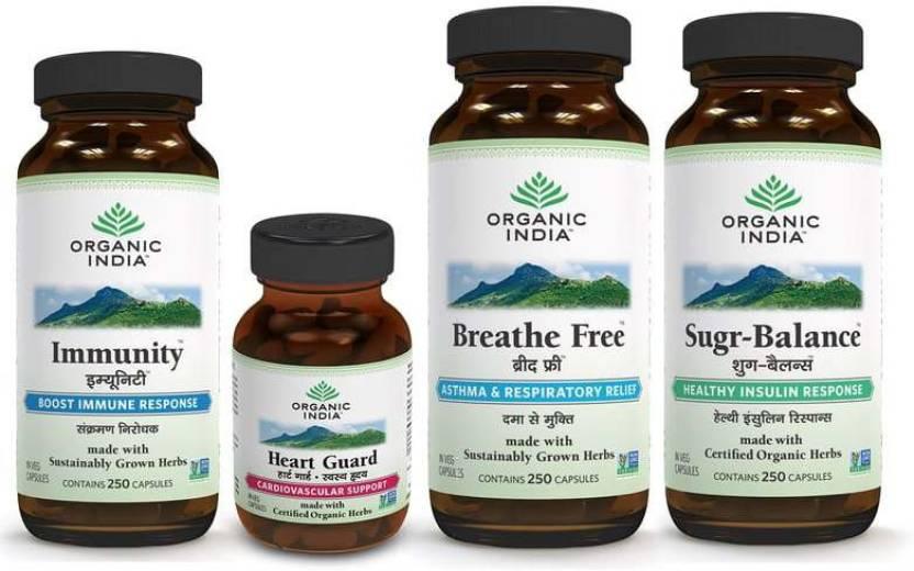 Organic India Total Health Care Combo Mega Price in India - Buy