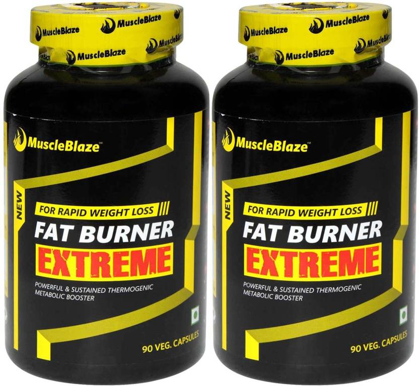 8eb6c1ee4 MuscleBlaze Fat Burner Extreme (Pack of 2) Price in India - Buy ...