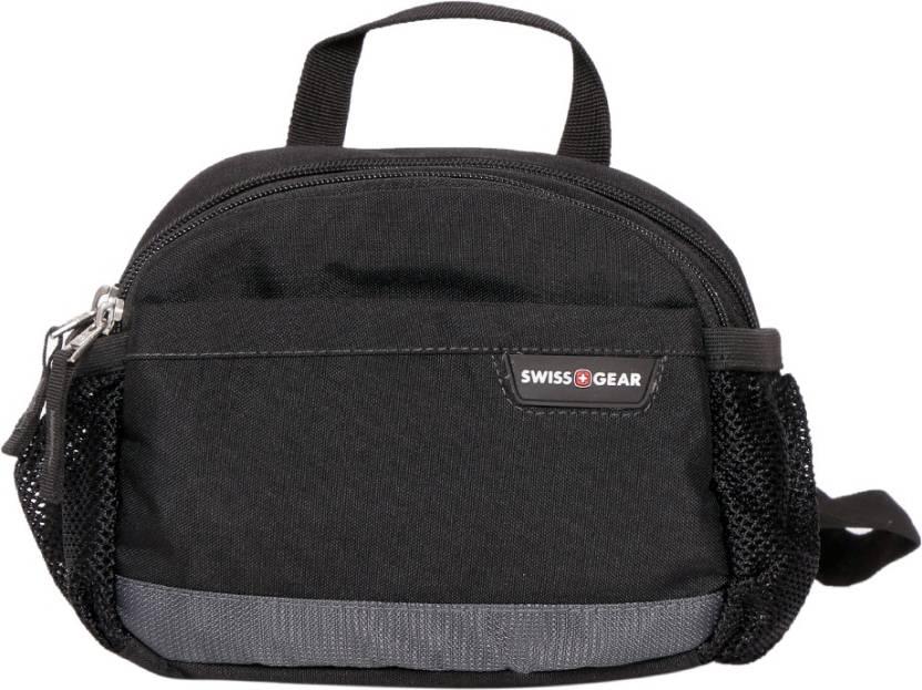 4dfb4ae6045 Swiss Gear Pack Waist Bag Black, Grey - Price in India   Flipkart.com