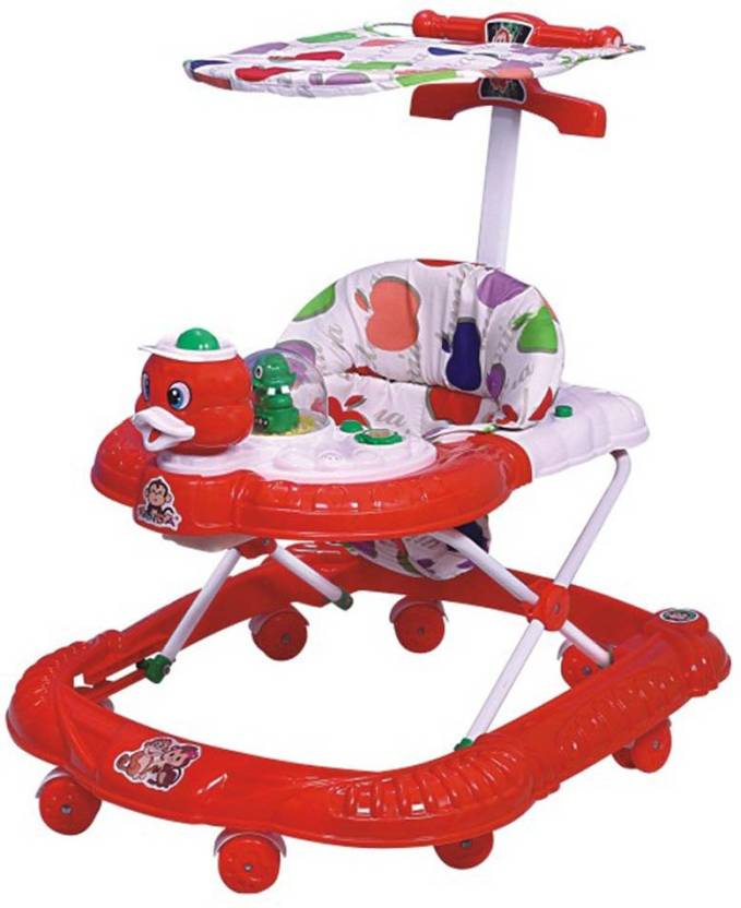 Panda Creation Yours Shop Multi Colour Walker-Red