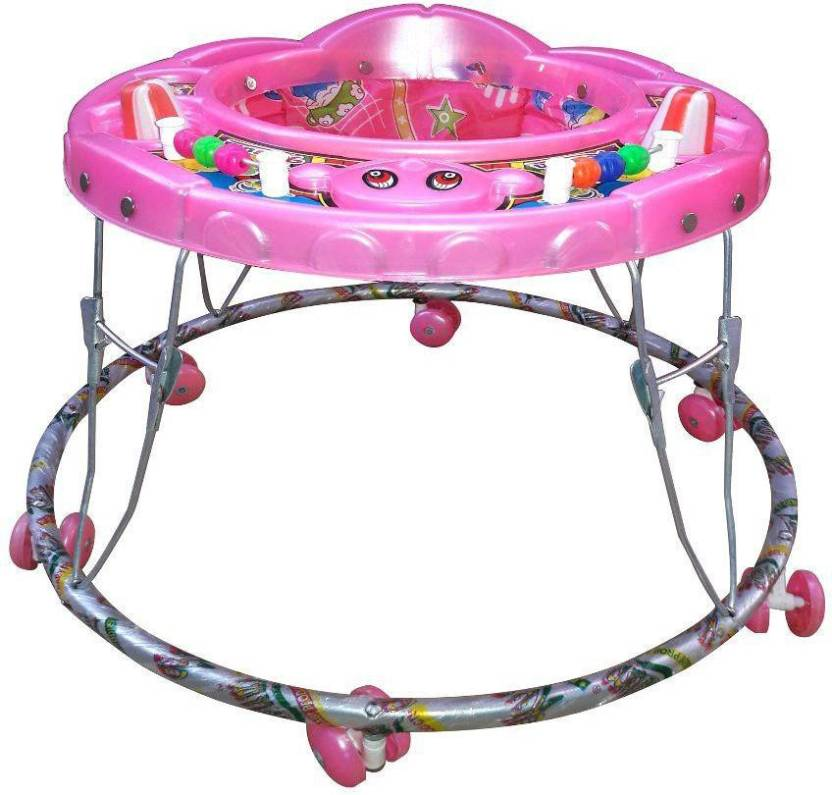 Abasr MULTICOLOR WALKER PINK