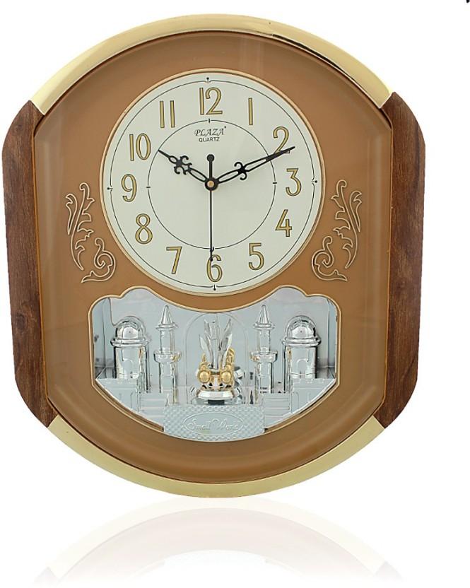 Fiesta Plaza1015 Rotational Pendulum Analog Wall Clock