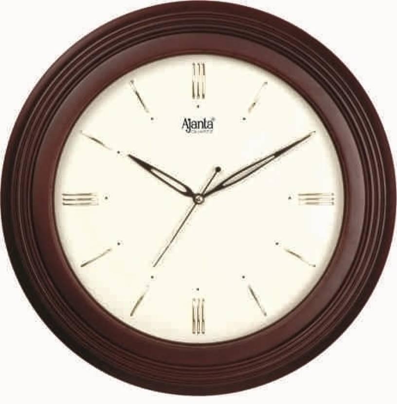 Ajanta Analog Wall Clock Price In India Buy Ajanta