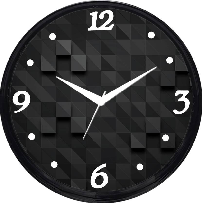 Cartoonpur Analog 28 cm Dia Wall Clock