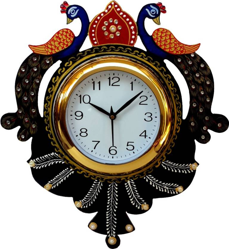 Divinecrafts Analog Wall Clock Price In India Buy Divinecrafts