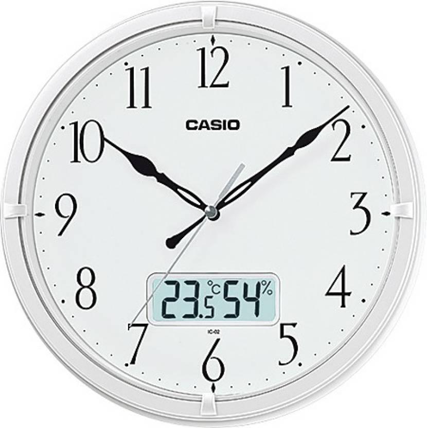 Casio Analog-Digital 26 cm X 26 cm Wall Clock