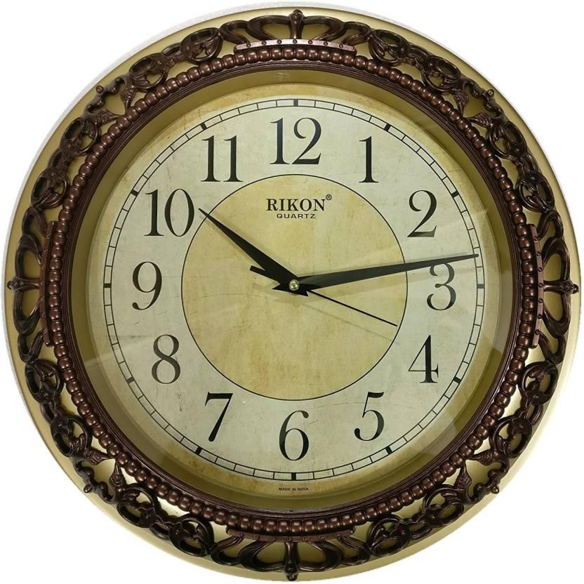 a51aac1bc Rikon Analog 36 cm X 6 cm Wall Clock Price in India - Buy Rikon ...