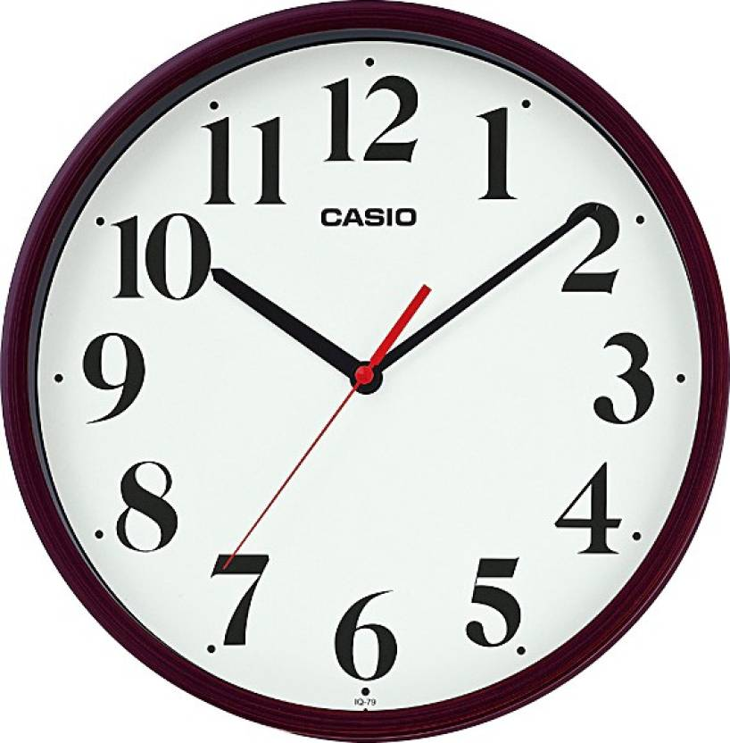 casio analog wall clock price in india buy casio analog wall clock