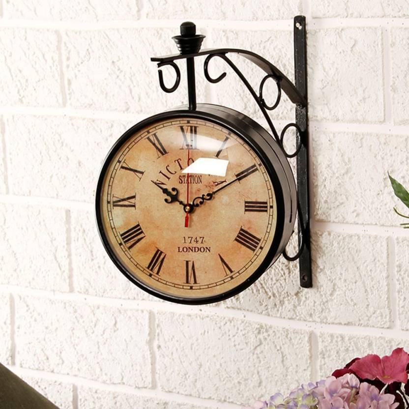 Double Sided Wall Clock Unravel India Analog Wall Clock Online