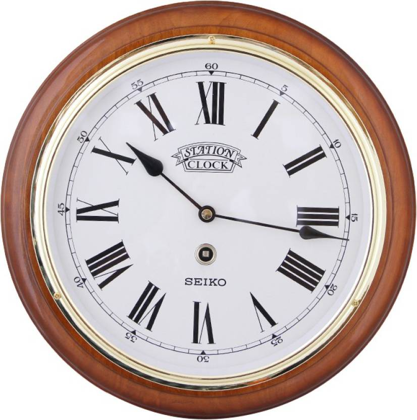Seiko Analog Wall Clock Price In India Buy Seiko Analog Wall Clock
