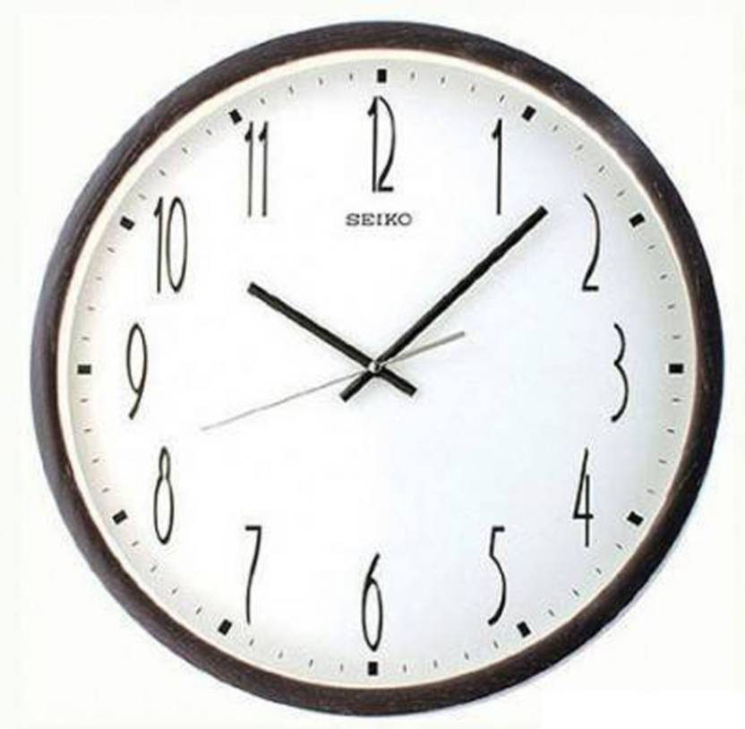 Seiko Analog Wall Clock Price In India Buy Seiko Analog