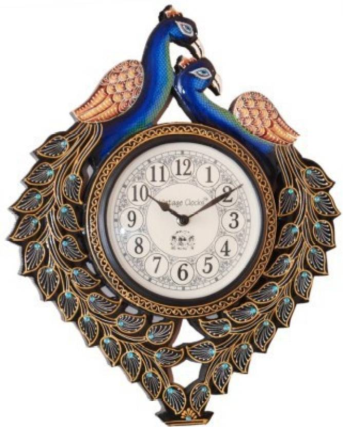 1efcc3cc8b8 VINTAGE CLOCKS Analog Wall Clock Price in India - Buy VINTAGE CLOCKS ...