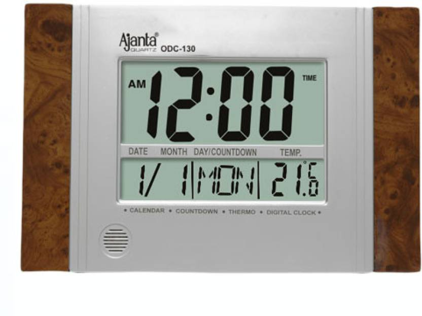 Ajanta Digital Wall Clock Price In India Buy Ajanta Digital Wall