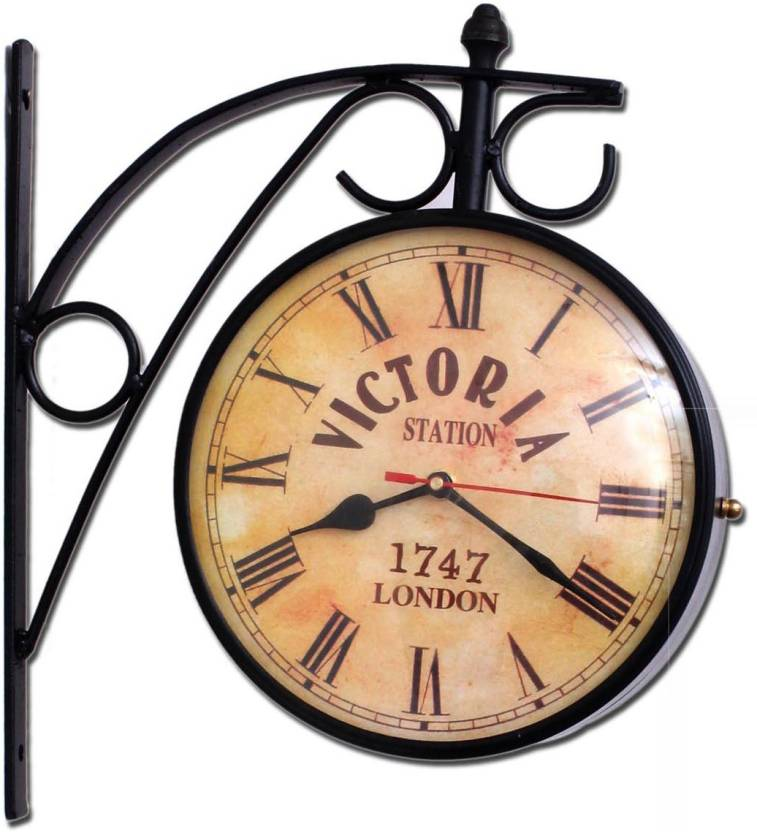 Home Sparkle Analog Wall Clock Price In India Buy Home Sparkle