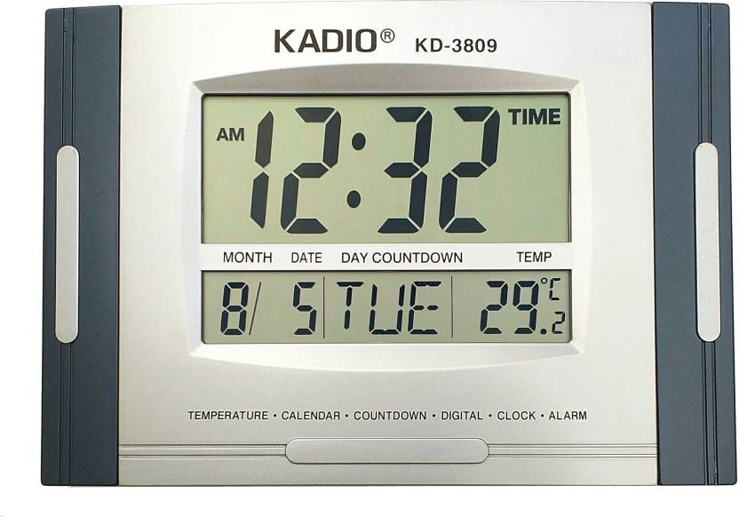 Buy Digital Clock   Kadio 3809 Multi Functional Digital Electronic Clock Digital Wall