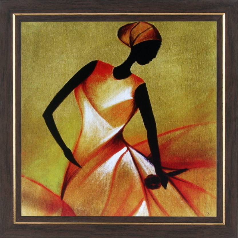 WENS Dainting Lady Wall Art Price in India - Buy WENS Dainting Lady ...