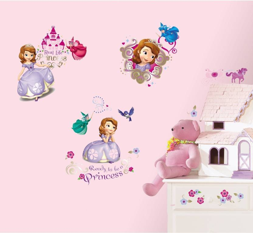 Disney Junior Sofia The First Wall Decals Price In India Buy