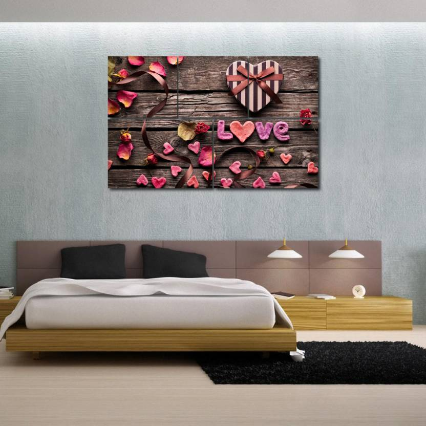999 Store Multiple Frames Printed Love Design Like Modern Wall Art