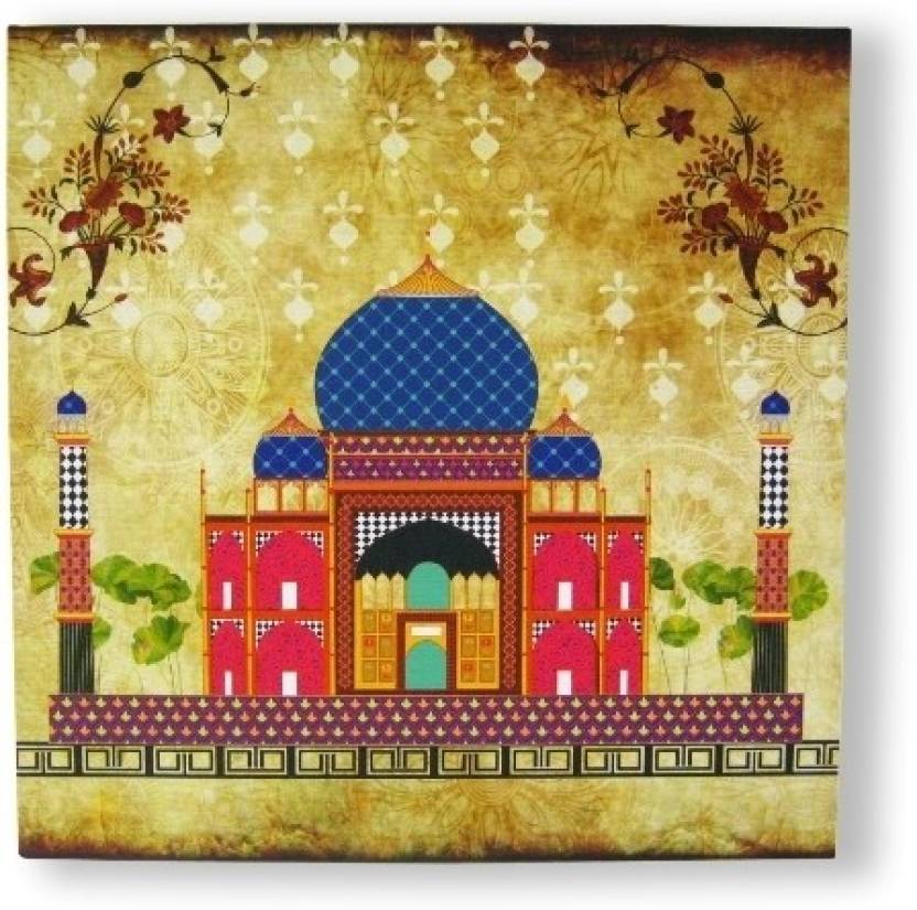 The Bombay Store Wall Art - Tajmahal Price in India - Buy The Bombay ...