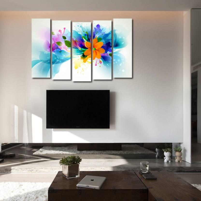 999 Store Multiple Frames Printed Flower like Modern Wall Art ...