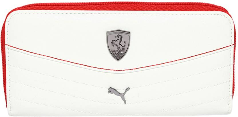 Upto 65% Off On Clutches By Flipkart | Puma Women White, Red Clutch @ Rs.889