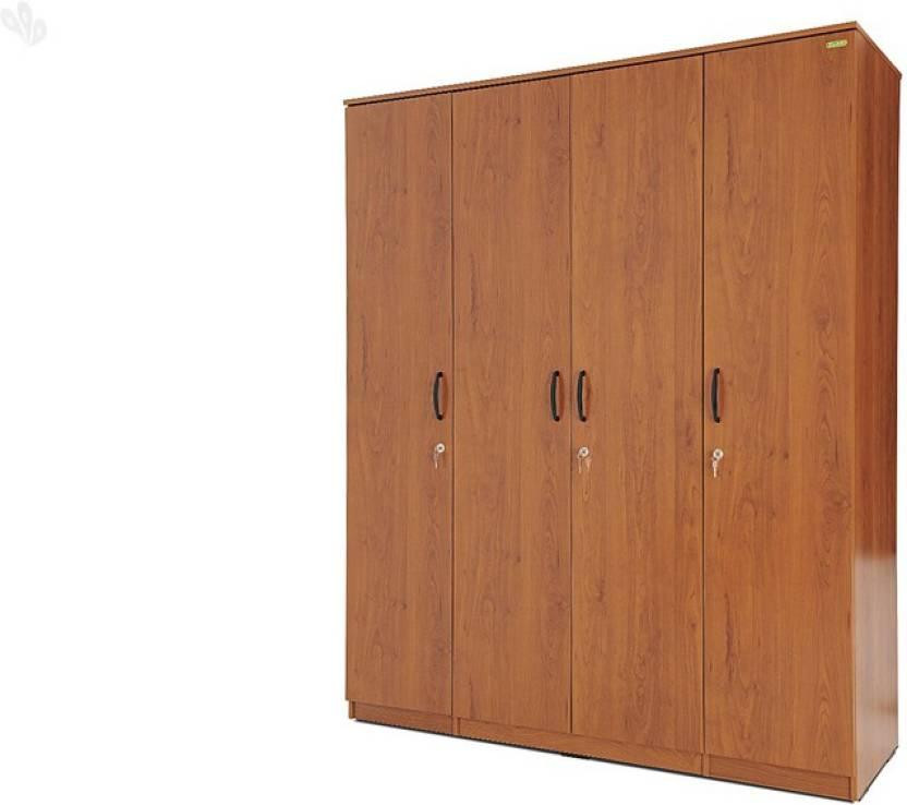 Zuari Engineered Wood 4 Door Wardrobe Price in India - Buy Zuari ...