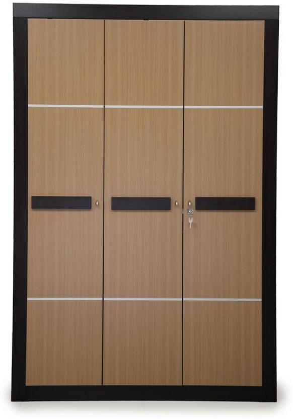 Nilkamal Cedar Engineered Wood 3 Door Wardrobe