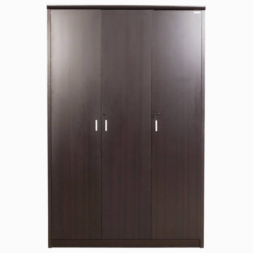 Godrej interio super magna 3 dr wardrobe engineered wood 3 for Buy godrej home furniture online india