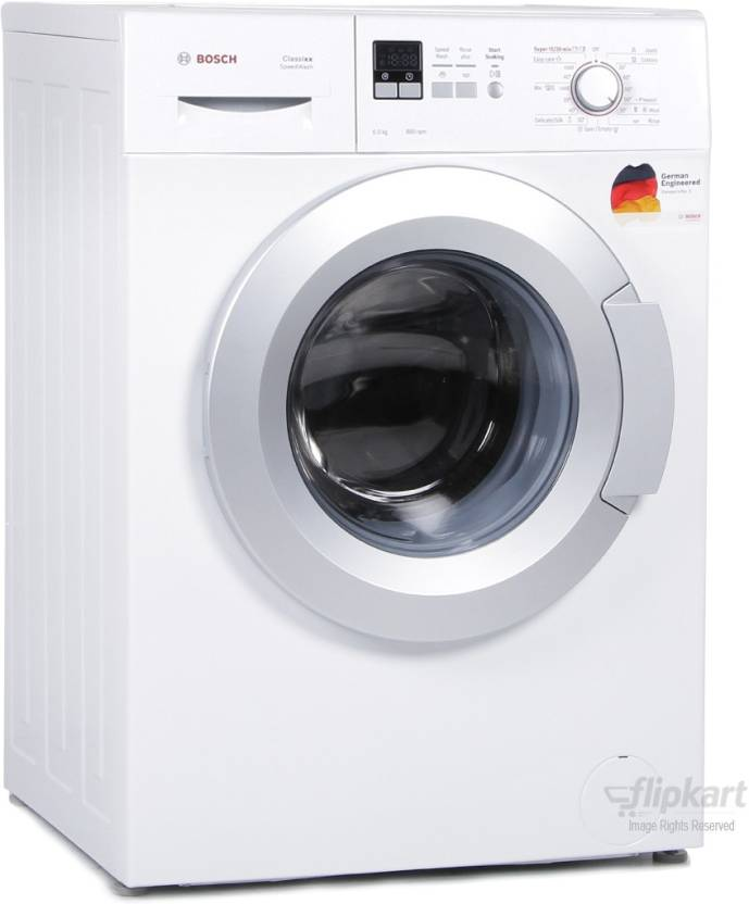 bosch washing machine bosch 6 kg fully automatic front load washing machine 11622