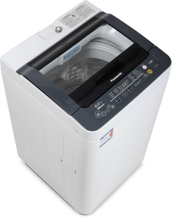 Panasonic 6.2 kg Fully Automatic Top Load Washing Machine Grey  (NA-F62B3HRB)