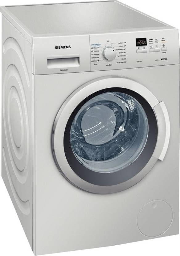 For 17499/-(36% Off) MarQ by Flipkart 7.5 kg Fully Automatic Front Load Washing Machine with In-built Heater Silver  (use icici card) at Flipkart