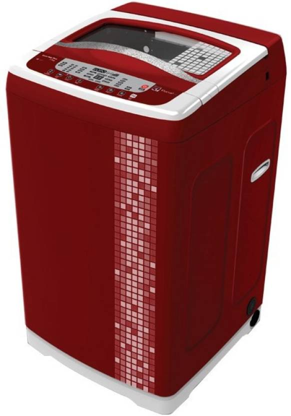 Electrolux 7 kg Fully Automatic Top Load Washing Machine Red