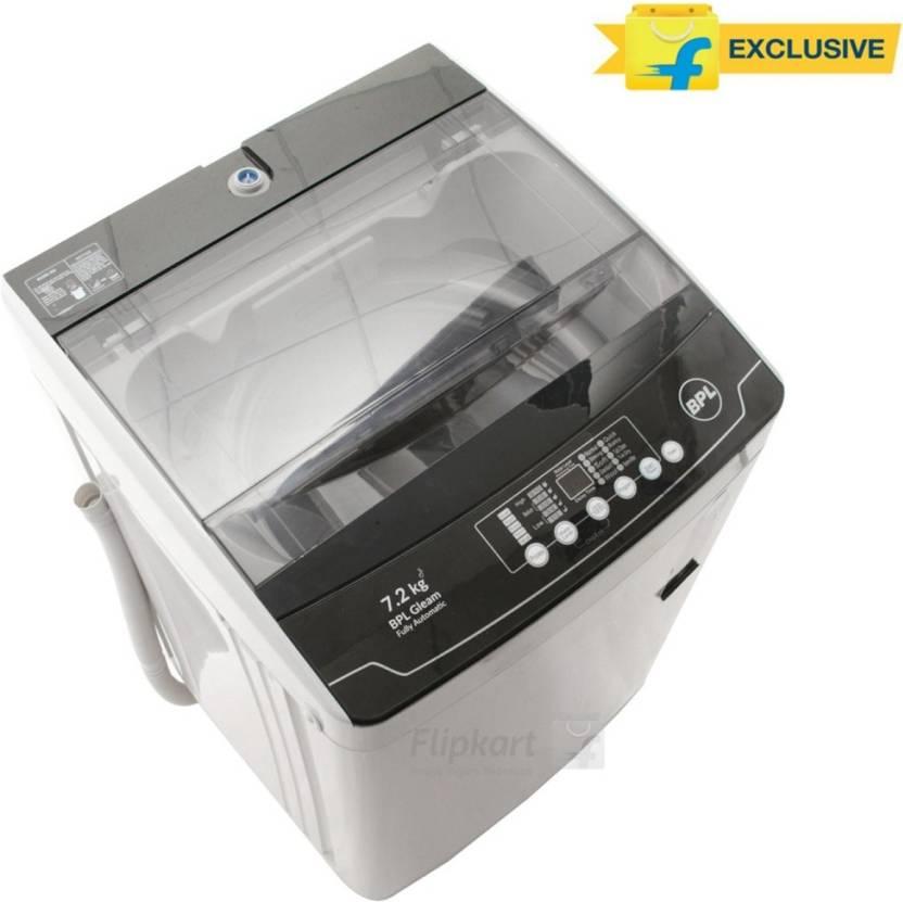 BPL 7.2 kg Fully Automatic Top Load Washing Machine  (BFATL72N1) By Flipkart @ Rs.13,990