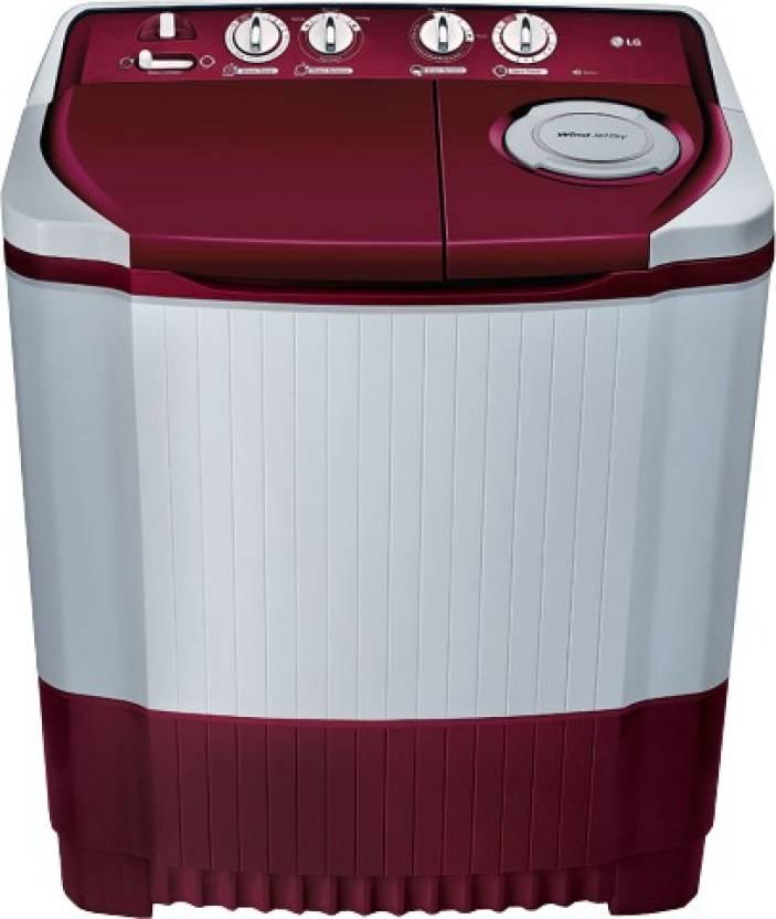 34b2452c8ea LG 6.2 kg Semi Automatic Top Load Washing Machine Price in India ...