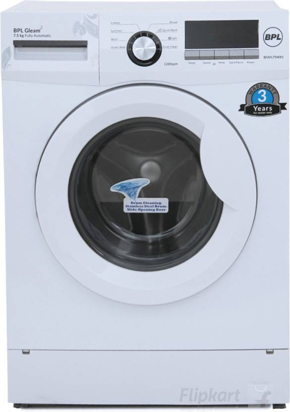 Minimum 20% off - BPL Washing Machines + Upto Rs. 3000 off on Exchange