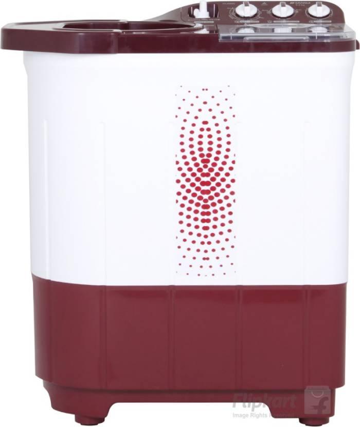 Sansui 6 kg Semi Automatic Top Load Washing Machine Maroon