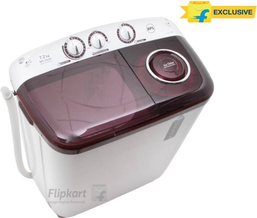 BPL 7.2 kg Semi Automatic Top Load Washing Machine