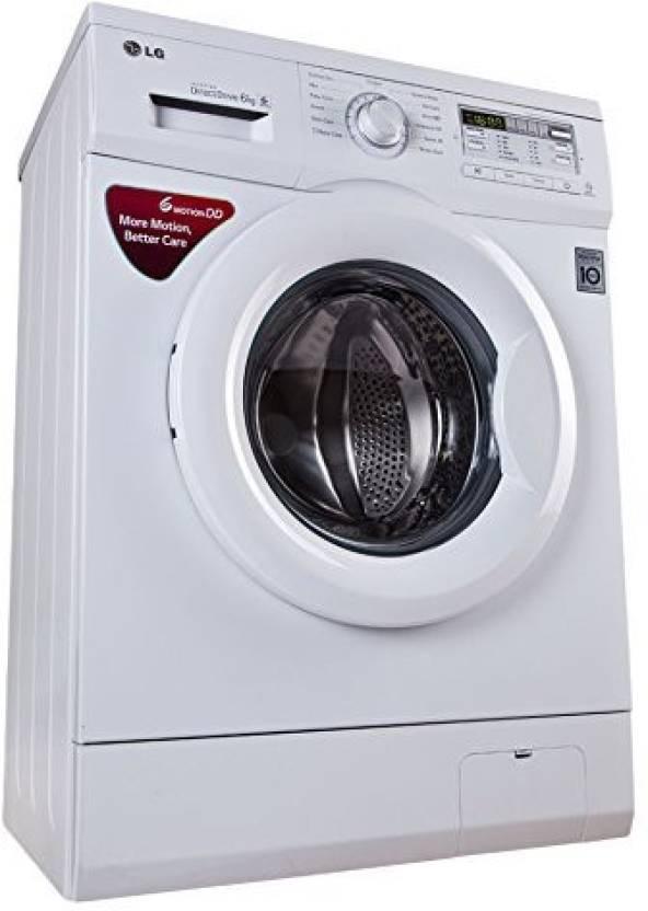 LG 6 kg Front Load Washing Machine- Just Rs.23,490 + Upto Rs. 4000 off on Exchange By Flipkart | LG 6 kg Fully Automatic Front Load Washing Machine  (FH0B8NDL22) @ Rs.23,489