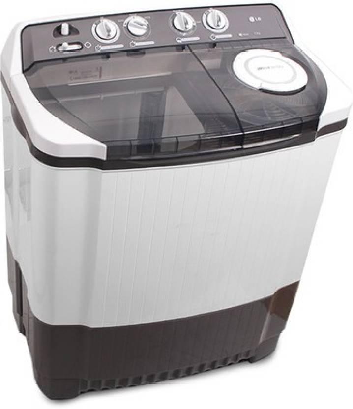 LG 7.5 kg Semi Automatic Top Load Washing Machine Grey