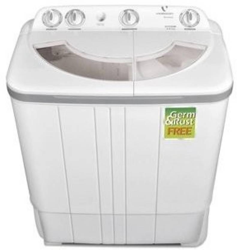 Videocon 6 kg Semi Automatic Top Load Washing Machine Grey VS60A11 Storm
