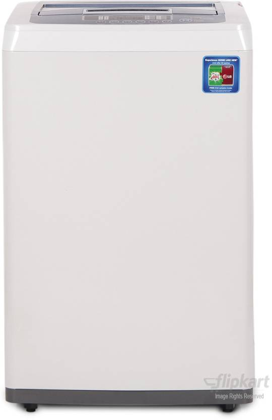 LG 6.2 kg Fully Automatic Top Load Washing Machine at Just Rs 15,990 + Upto Rs.2500 Off on Exchange By Flipkart | LG 6.2 kg Fully Automatic Top Load Washing Machine  (T72CMG22P) @ Rs.16,490