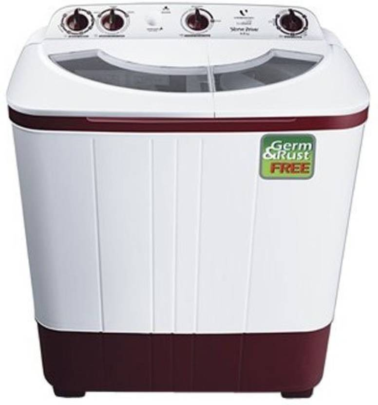 Videocon 6 kg Semi Automatic Top Load Washing Machine White VS60A12