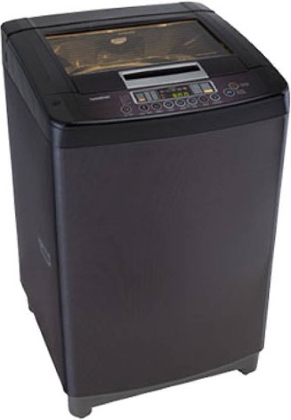LG 6.5 kg Fully Automatic Top Load Washing Machine Black(T7567TEDLK)