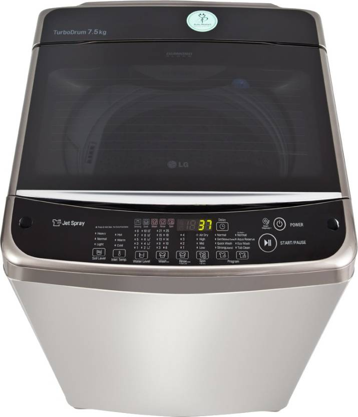 LG 7.5 kg Fully Automatic Top Load Washing Machine(T8568TEEL5)