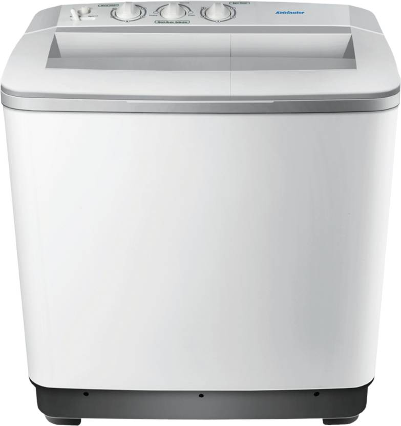 Kelvinator KS65LPGL Semi-Automatic 6.5 kg Washer Dryer, Washer Dryer