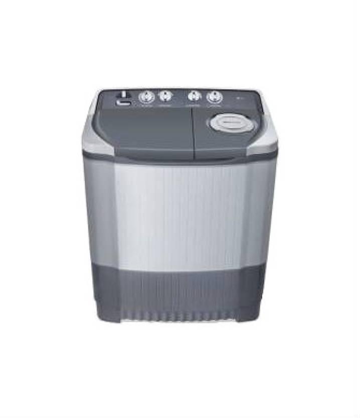 LG P7555P3F Semi-Automatic 6.5 kg Washer Dryer