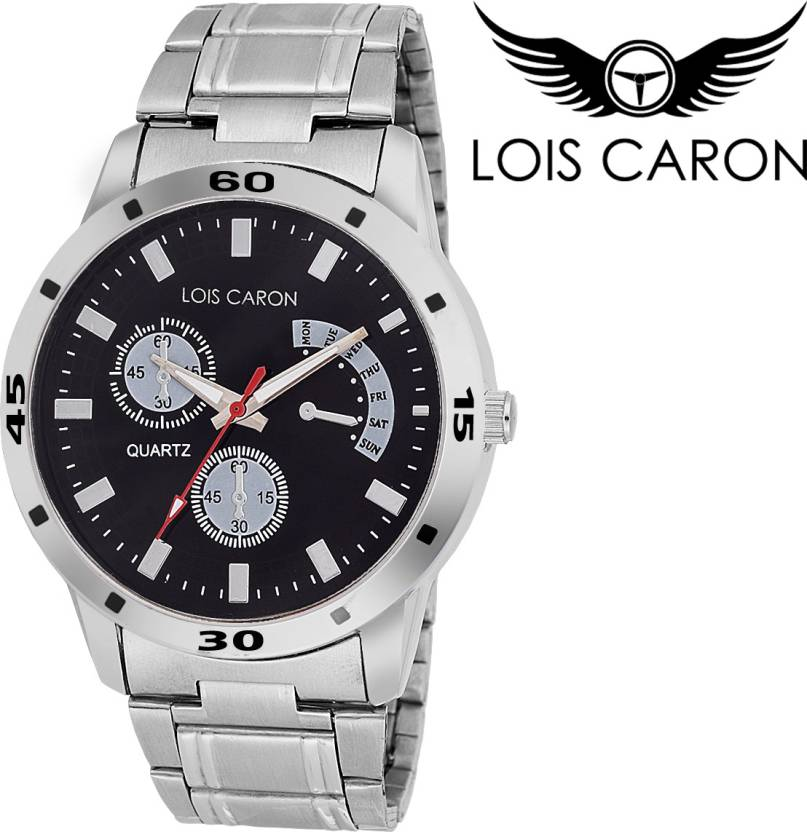 Lois Caron Lcs-4048 Chronograph Pattern Analog Watch  - For Men